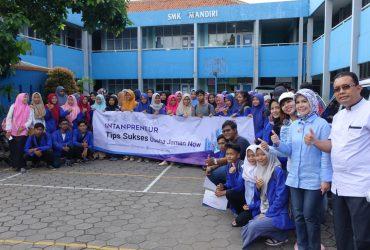 INTANpreneur di SMK Mandiri Kota Bekasi