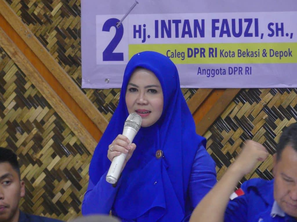 Intan Fauzi Siap Perjuangkan APBN untuk Majelis Taklim
