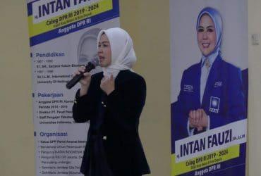 Intan Fauzi: Kenalilah Rekam Jejak Caleg DPR
