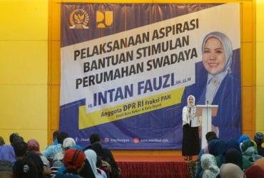 Hasil Kerja Nyata Intan Fauzi, 1500 Rutilahu Untuk Kota Depok dan Kota Bekasi