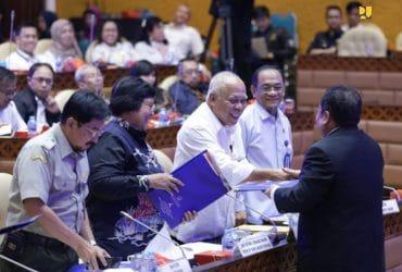 Komisi V DPR dan Pemerintah Setuju RUU SDA Dibawa ke Rapat Paripurna DPR