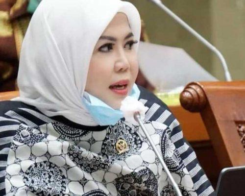 Anggota Komisi VI DPR RI, Hj. Intan Fauzi, SH., LL.M