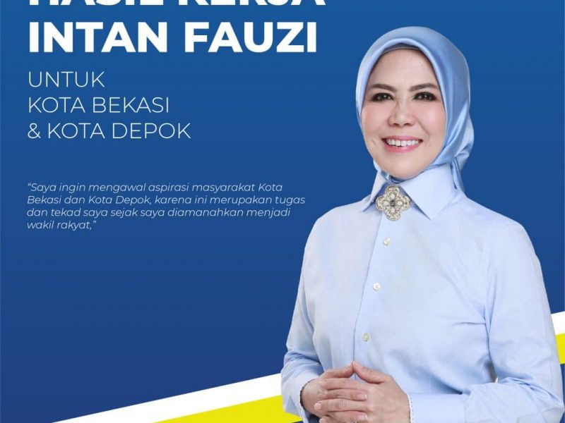 Hasil kerja Anggota DPR RI Intan Fauzi
