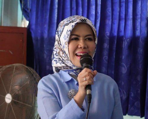 Anggota DPR RI Komisi IX, Hj Intan Fauzi, SH, LL.M