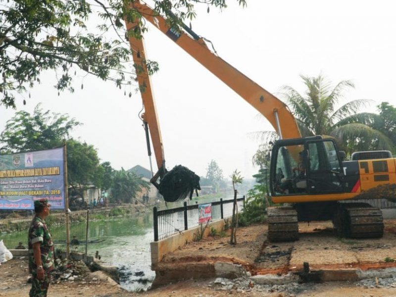 Kerja Bakti Bersama Situ Rawa Bebek (Kodam Jaya - Kodim ( (40)