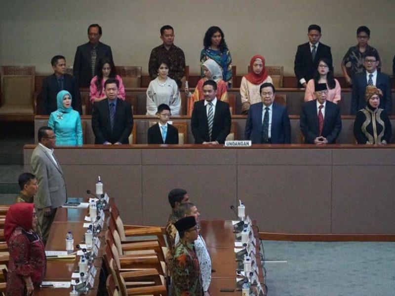 Pelantikan Intan Fauzi sebagai anggota DPR RI (14)