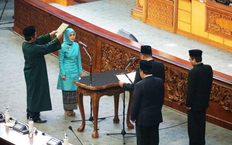 Pelantikan Intan Fauzi sebagai anggota DPR RI (17)