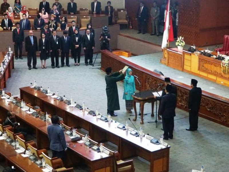 Pelantikan Intan Fauzi sebagai anggota DPR RI (18)