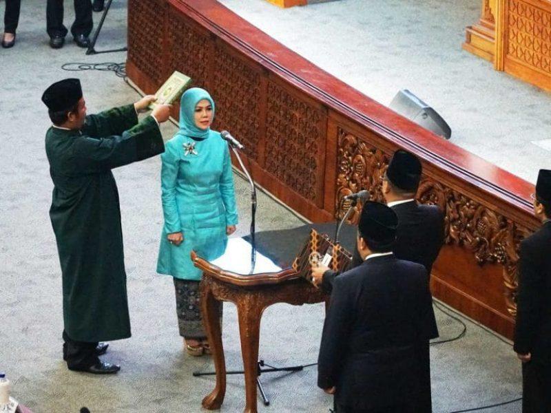 Pelantikan Intan Fauzi sebagai anggota DPR RI (19)