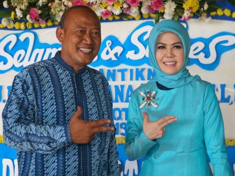Pelantikan Intan Fauzi sebagai anggota DPR RI (2)