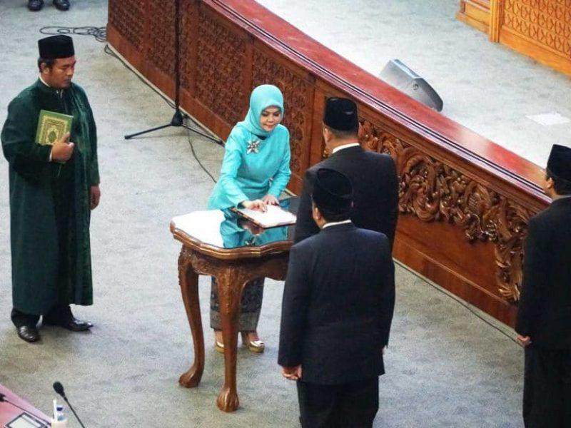 Pelantikan Intan Fauzi sebagai anggota DPR RI (20)