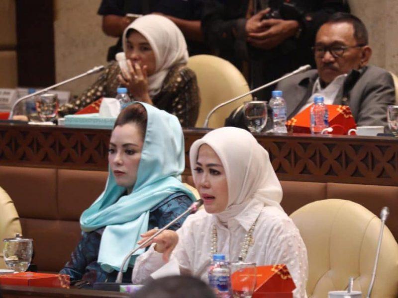 Anggota Komisi V DPR RI yang juga Wakil Rakyat Kota Bekasi dan Kota Depok, Hj Intan Fauzi, SH, LL.M