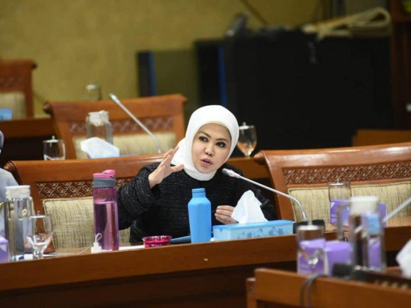 Anggota DPR RI, Hj Intan Fauzi SH, LL.M