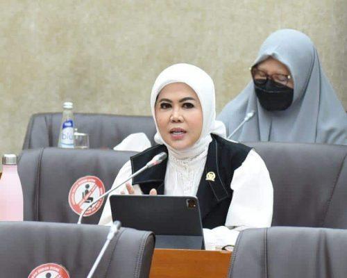 Anggota DPR RI Komisi VI, Hj. Intan Fauzi, SH., LL.M