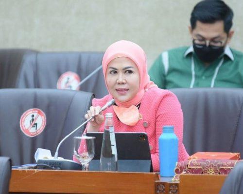 Anggota Komisi VI DPR RI Hj. Intan Fauzi, SH., LL.M
